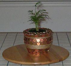 penny pot planter