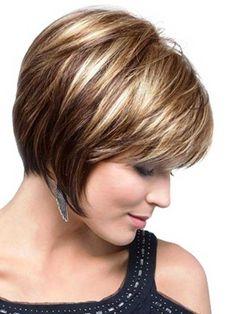 10.Short de pelo para mujeres mayores de 40                                                                                                                                                                                 Más