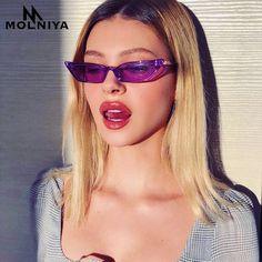 Cheap gafas de sol, Buy Quality de sol directly from China brand cat eye sunglasses Suppliers: New Women Small Cat Eye Sunglasses 2018 Vintage Men Fashion Brand Designer Red Shades Square Sun Glasses UV400 gafas de sol
