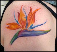 bird of paradise flower tattoo - Google Search