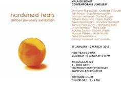 Hardened tears - amber jewellery exhibition - www.villadebondt.be    - X