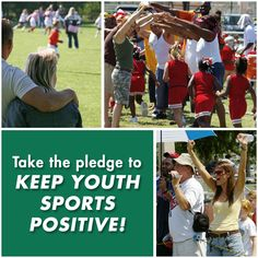 Youth sports parents can help turn around the disturbing behaviors that are becoming commonplace in today's youth sports culture. Take the Sports Parents Pledge today!