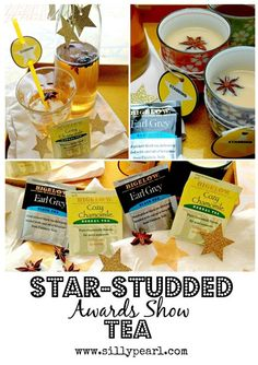 Star-Studded Awards Show Tea - Printables and Star Anise Tea Recipes - The Silly Pearl #AmericasTea #shop
