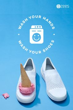 MACHINE WASHABLE. SPIN, SPIN THROW 'EM IN! Dance in the rain. Go sockless. Jump in the puddles ... then throw them in the wash and repeat. How To Wash Shoes, Dancing In The Rain, Shabby Chic Style, Summer Looks, Spin, Repeat, Shoes Sandals, Dance, Dupes