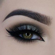 Eye make up Makeup Goals, Makeup Inspo, Makeup Trends, Makeup Inspiration, Professionelles Make Up, Eye Makeup, Hair Makeup, Beauty Make-up, Makeup Eyes