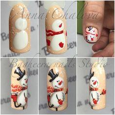 58 Trendy Nails New Years Holiday Nail Art Noel, Xmas Nails, New Year's Nails, Winter Nail Art, Christmas Nail Art, Holiday Nails, Winter Nails, Diy Nails, Cute Nails