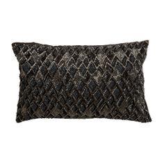 Diamond Beaded Rectangular Pillow from Ethan Allen