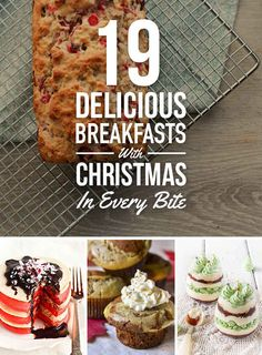 19 Breakfasts That Will Make Your Christmas Morning Delicious (or really every / any morning!)