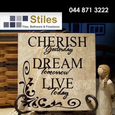 Don't dwell on the mistakes you have made in the past, learn from them and live for tomorrow. Wishing you all a blessed Sunday from Stiles. #lifestyle #inspiration #homeimprovement
