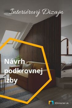 Návrh podkrovnej izby Prešov. Interiérový dizajn Prešov, online. Home Decor, Home Interior Design, Decoration Home, Home Decoration