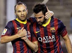 Real Betis 1-4 FC Barcelona Time 13 liga BBVA.