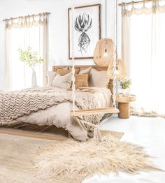 home decor bedrooms 26 Best Bedroom Rug Ideas And Design . 26 Best Bedroom Rug Ideas And Design ⋆ All About Home Decor Boho Bedroom Decor, Boho Room, Home Bedroom, Bohemian Decor, Artwork For Bedroom, Gypsy Bedroom, Bedroom Rugs, Bedroom Beach, Bohemian House