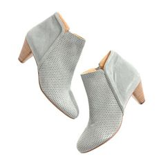 polder dylan suede booties ++ madewell