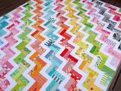 12-Scrappy-Stash-Busters-Zigzag-Rail-Fence-by-Red-Pepper-Quilts.jpg (500×375)