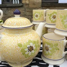 Emma Bridgewater's new mug on sale today at Bampton NGS open day #destinationgarden