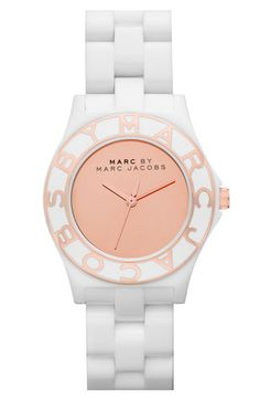 Marc by Marc Jacobs Blade Resin watch