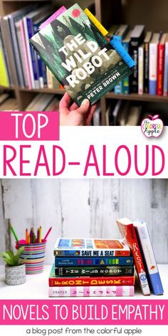 Build empathy with read-aloud novels!  These are my top 5 books (and a bonus!) to help your students understand what it's like to walk in someone else's shoes.  All of the novels will start some great conversations in your classroom!