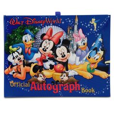 Disney World Official Mickey Mouse & Friends Autograph Book