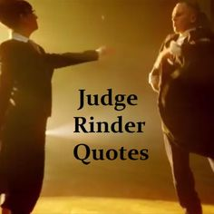 RT @rinderquotes: I can smell porkies it must be time for Judge Rinder!