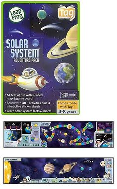 Game Cartridges and Game Books 177916: Leapfrog Tag Solar System Adventure Pack -> BUY IT NOW ONLY: $59.89 on eBay!