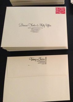 30 Address Etiquette Invitation Return Wedding Pinterest