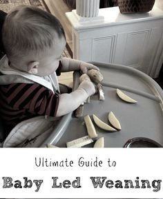 Ultimate Guide To Baby Led Weaning - A Simple Approach to Solid Food Introduction. How this family embraced Baby-Led Weaning/Feeding (BLW). Simple easy tips and explanations about Babyled Weaning. Must read for parents with babies starting solids. - great for babies 6 months and older. Post and read when baby is younger so you are prepared :)