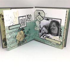 Un mini « Parfum de roses Mini Parfum, Parfum Rose, Mini Albums Scrapbook, Tampons, Craft Fairs, Roses, Liberty, Magazine, Montage