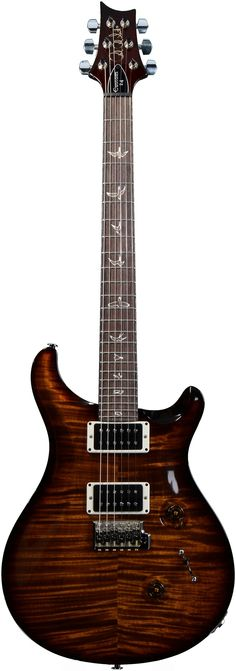 PRS Custom 24 (10-Top Black Gold Burst) | Sweetwater.com