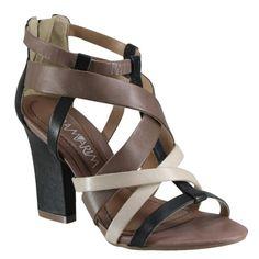 Sandália Ramarim 14-26205 - Preto/Amendoa/ (Soft) - Calçados Online Sandálias, Sapatos e Botas Femininas | Katy.com.br