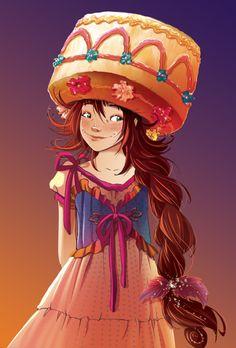 Fairy Oak-Flox Pollimon: The Rainbow Girl. | #ElisabettaGnone #libri #books #romanzo #novel #art #drawing #picture #sketch #draw #artist #illustration #pencil #reading #fable #fiaba