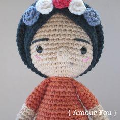 Mini Frida - Crochet Pattern by {Amour Fou}