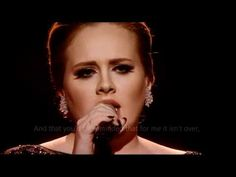 Adele- Someone like you- I heard her live for the first time on MTV's Music Video Awards,and LOVED her!