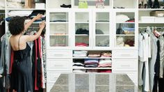 The best way to organize your walk-in closet is to set it up into zones according to function, based on the unique way you think about your wardrobe. For example, when you are getting dressed, do you think first in terms of occasion (work clothes, weekend clothes, evening clothes) or first by garment type (i.e. dress, suit, skirt, blouse), or first by season? Arrange your clothes accordingly — creating a section for each category, based on the way you think. Within each section, arrange the…