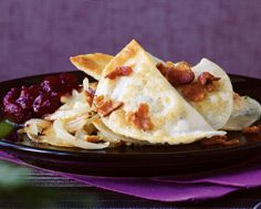 Turkey and Mashed Potato Perogies