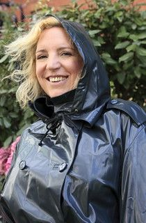 Black Raincoat, Raincoat Jacket, Rain Jacket, Rain Fashion, Rubber Raincoats, Raincoats For Women, Rain Wear, Unisex, Black Rubber
