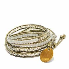Color Block Wrap Bracelet: Handmade in Kenya