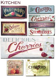 Terri Palmer | Hand painted Wooden Signs