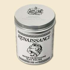 Seal wrought iron against the elements with Renaissance Wax. Developed by the British Museum, it polishes and coats metals with a hard, durable petroleum-based wax seal—perfect for outdoor railings. About $16 for 2.25 ounces; restorationproduct.com. | Photo: Courtesy of The Best Things | thisoldhouse.com