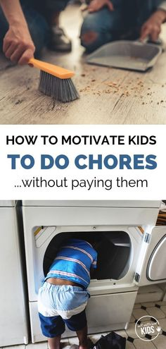 Paying kids for chores doesn't always work, and some research suggests it could do more harm than good. So what does work? Here's how to motivate kids to do chores.without paying them. Parenting Styles, Parenting Books, Gentle Parenting, Parenting Teens, Parenting Advice, Practical Parenting, Chores For Kids By Age, Motivation For Kids, Kids Rewards