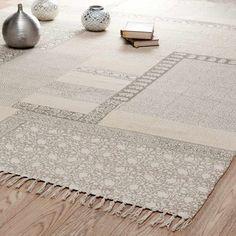 Kurzflorteppich aus Baumwolle, 160 x ...
