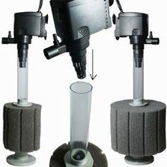 Aquarium & Pond Sponge Filtration | How these Filters Work  http://www.americanaquariumproducts.com/sponge_filtration.html