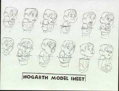 Resultado de imagen para character design iron giant