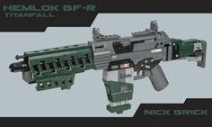 Amazing Lego Hemlok BF-R Rifle from Titanfall