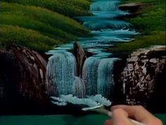 Bob Ross - Evening Waterfall (Season 12 Episode 8) - YouTube