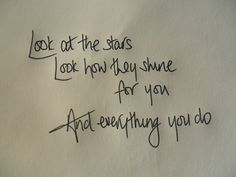 coldplay. LOVE this song!