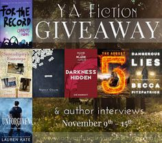 SEVEN New Release Giveaways PLUS Author Interviews for the week of 11/9