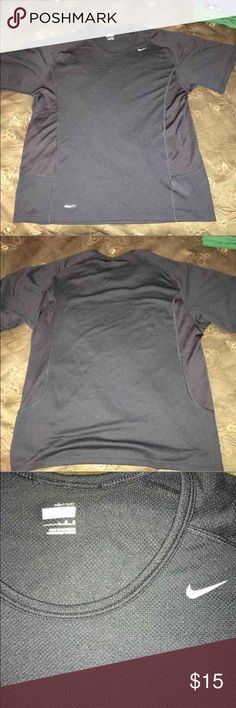 NIKE Dri-Fit athletic shirt men's sz Large Dri-fit, new condition. From smoke and pet free home. Nike Shirts Tees - Short Sleeve