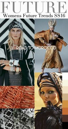 FASHION VIGNETTE: TRENDS // TREND COUNCIL - WOMENS SS 2016 - ROAD TO...