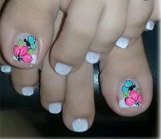 Thalia, Manicure And Pedicure, Nail Designs, Nail Art, Hair Styles, Beauty, Designed Nails, Pretty Nails, Pretty Toe Nails