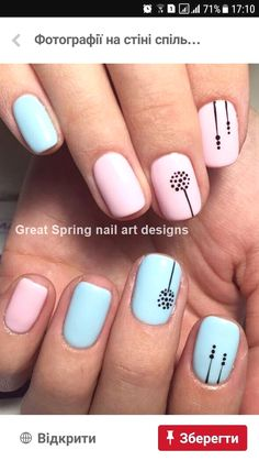 nail art designs for spring \ nail art designs ; nail art designs for spring ; nail art designs for winter ; nail art designs with glitter ; nail art designs with rhinestones Short Nail Designs, Nail Designs Spring, Gel Nail Designs, Cute Nail Designs, Nails Design, Spring Nail Art, Spring Nails, Summer Nails, Diy Spring